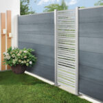 Traumgarten system platinum et lame décorative vertical Linéa